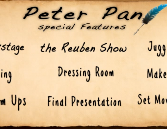 Peter Pan DVD opening
